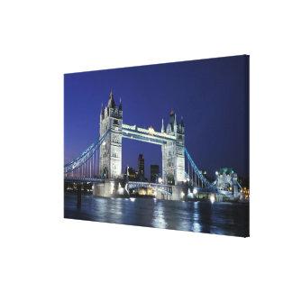 England, London, Tower Bridge 3 Stretched Canvas Prints