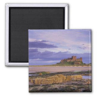 England, Northumberland, Bamburgh Castle Magnet