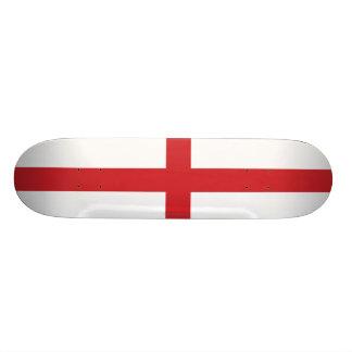 England Plain Flag Custom Skateboard
