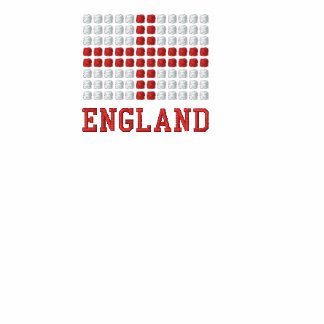 England Polo Shirt - English red cross flag