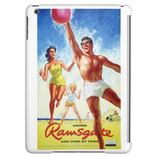 England Ramsgate Restored Vintage Travel Poster Case For iPad Air