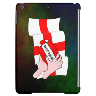 England Rugby Team Supporters Flag With Ball