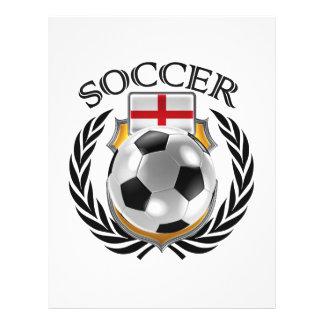 England Soccer 2016 Fan Gear 21.5 Cm X 28 Cm Flyer