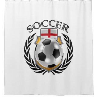 England Soccer 2016 Fan Gear Shower Curtain
