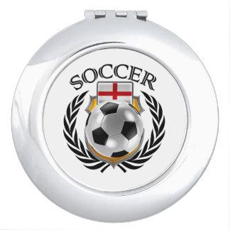 England Soccer 2016 Fan Gear Travel Mirrors