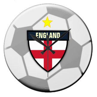 England Soccer Ball Clock