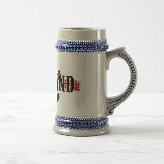 England Soccer Beer Stein Mugs