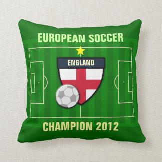 England Soccer Champion 2012 Pillows