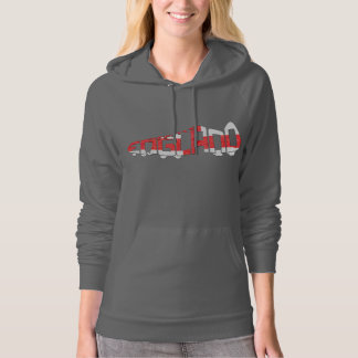England Soccer Cleat Hooded Pullovers