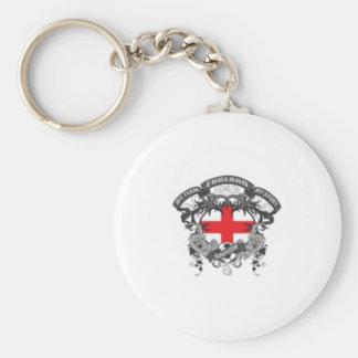 England Soccer Keychains