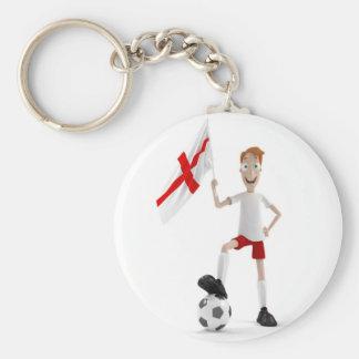England soccer keychain