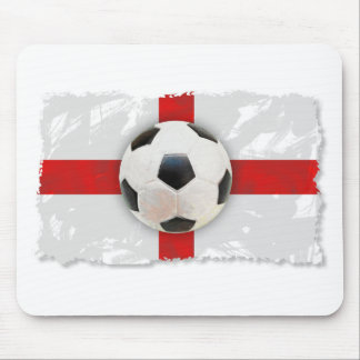 England Soccer Mouse Pad