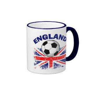 ENGLAND SOCCER MUGS