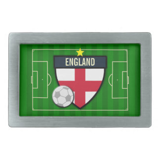 England Soccer Rectangular Belt Buckles