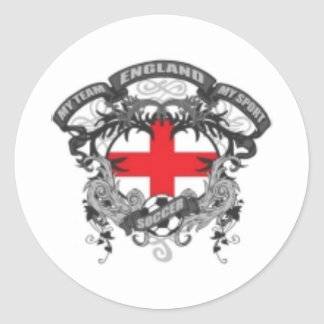 England Soccer Stickers