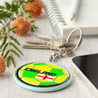England Soccer Supporters Keychains