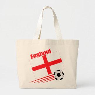 England Soccer Team Jumbo Tote Bag