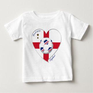 """ENGLAND"" Soccer Team. Soccer of England 2014 Baby T-Shirt"