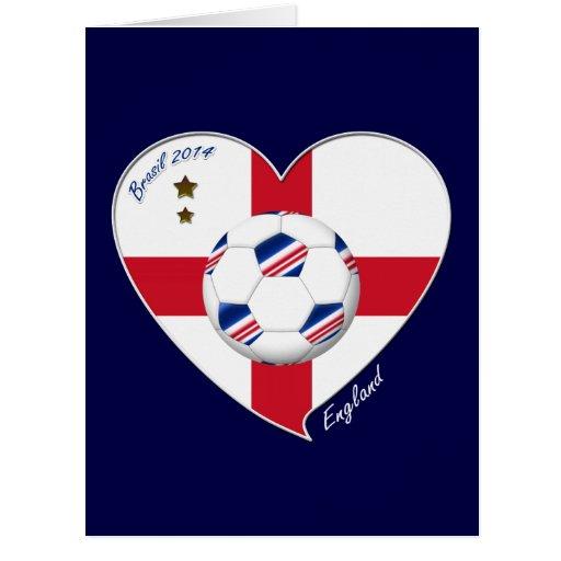 """ENGLAND"" Soccer Team. Soccer of England 2014 Cards"