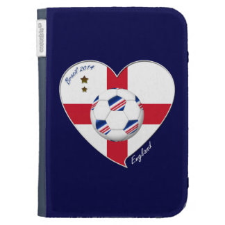 """""""ENGLAND"""" Soccer Team. Soccer of England 2014 Kindle Keyboard Covers"""
