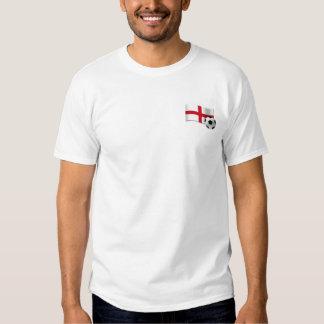 England Soccer three lions shield Tee Shirts