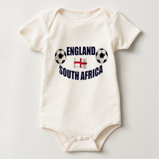 England South Africa Soccer fans gifts Baby Bodysuit