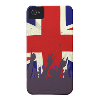 England State Flag with Audience Case-Mate iPhone 4 Case