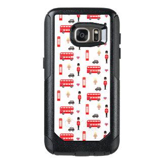 England Symbols Pattern OtterBox Samsung Galaxy S7 Case