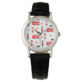 England Symbols Pattern Watch