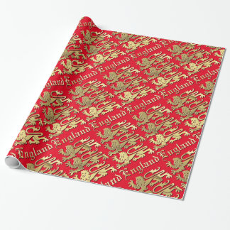 England - The Coat of Arms Wrapping Paper
