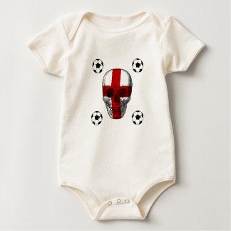England til I die England Soccer lovers gifts Baby Bodysuit