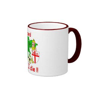 England till I die !! Mug