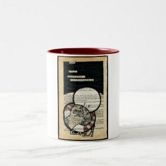 England... Two-Tone Coffee Mug