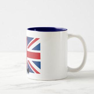 England UK Striker Coffee Mug