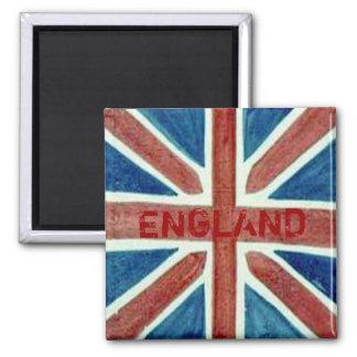 England Union Jack Flag Magnet