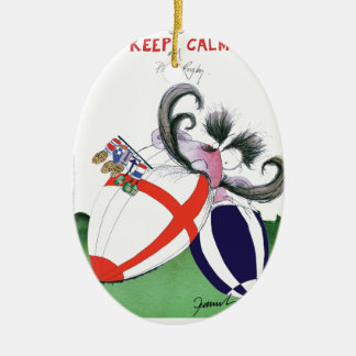 england v scoland rugby balls from tony fernandes ceramic oval decoration