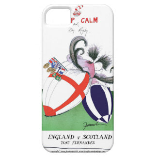 england v scoland rugby balls from tony fernandes iPhone 5 covers