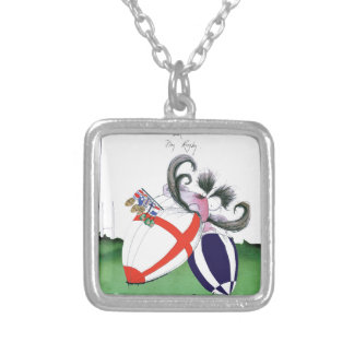 england v scoland rugby balls from tony fernandes silver plated necklace