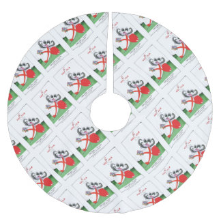 england v wales rugby balls from tony fernandes brushed polyester tree skirt