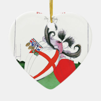 england v wales rugby balls from tony fernandes ceramic heart decoration