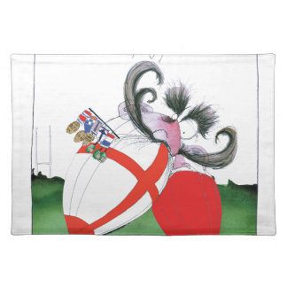 england v wales rugby balls from tony fernandes placemat
