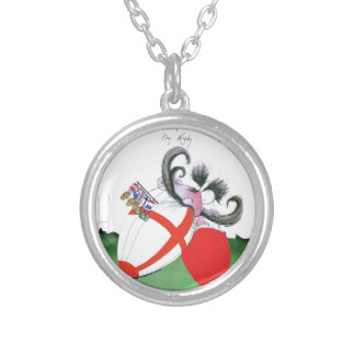 england v wales rugby balls from tony fernandes silver plated necklace