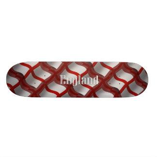 England Waving Flag Skate Deck