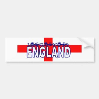 England WC2010 Bumper Sticker