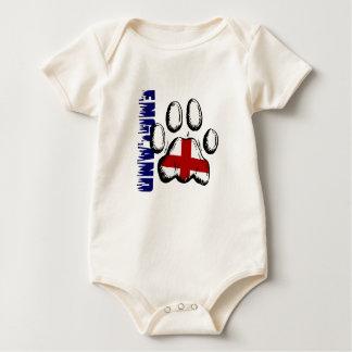 England Wild soccer players gear Baby Bodysuit