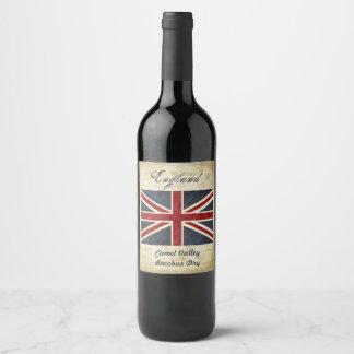 England Wine Label