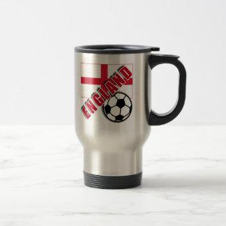 ENGLAND World Soccer Fan Tshirts Travel Mug
