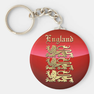 England's Coat of Arms Key Ring