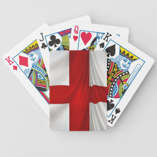 England's St George Cross Patriotic Flag Bicycle Playing Cards