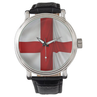 England's St George Cross Patriotic Flag Watch
